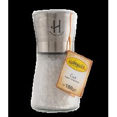 Метална стъклена мелница каменна сол 180 гр.